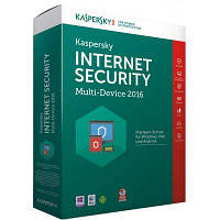 Kaspersky Internet Security 2016 - Multi-Device EEMEA Edition. 2+1 Device 1 year Base Box