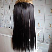 Искусственные волосы на заколках- прядь для объема