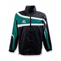 Куртка ветрозащитная Europaw TeamLine черно-зеленая