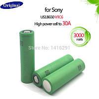 Аккумулятор для электронных сигарет Sony US18650VTC6 3000mAh 30A