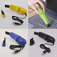 Мини пылесос USB mini Vacuum BH-8081, мини пылесос для клавиатуры от usb, маленький пылесос с насадками