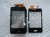 Touch screen (Сенсор) Nokia Asha 501 black