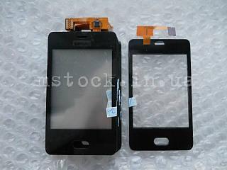 Touch screen (Сенсор) Nokia Asha 501 black