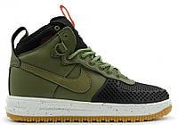 Мужские высокие кроссовки Nike Lunar Force 1 Duckboot, Найк Форс хаки