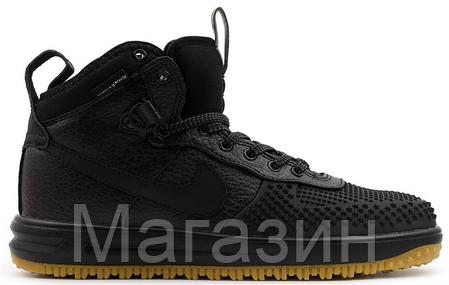 a78c01727b49 Мужские высокие кроссовки Nike Lunar Force 1 Duckboot Найк Форс Дакбут  черные, фото 2