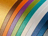Картон цветной  А4, 5л./5цв. гофро метализированный (7816)