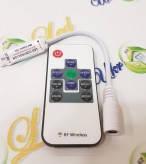 Мини-контроллер RGB 6A 10 кнопок IR провод гнездо мама