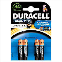 Батарейка Duracell LR03 Turbo 1*4 блистер