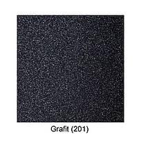Мойка для кухни с крылом 65 *50 см Galati Jorum 65 Grafit (201), фото 3