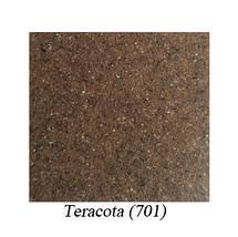 Кухонная мойка с крылом коричневая 65 * 50 см Galati Jorum 65 Teracotă (701), фото 3