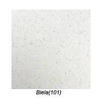 Белая мойка для кухни с вкраплениями 86 см Galati Jorum 86 Biela (101), фото 3