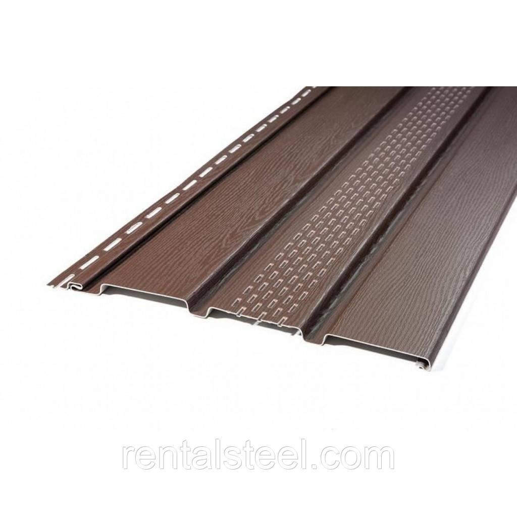 Панель айДахо коричневая перфорированная