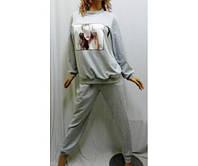 Пижама с длинным рукавом и длинными штанами