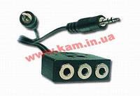 Аудио-кабель Gembird СС-MIC-1, 1m Gembird CC-MIC-1, extension, 1m (CC-MIC-1)