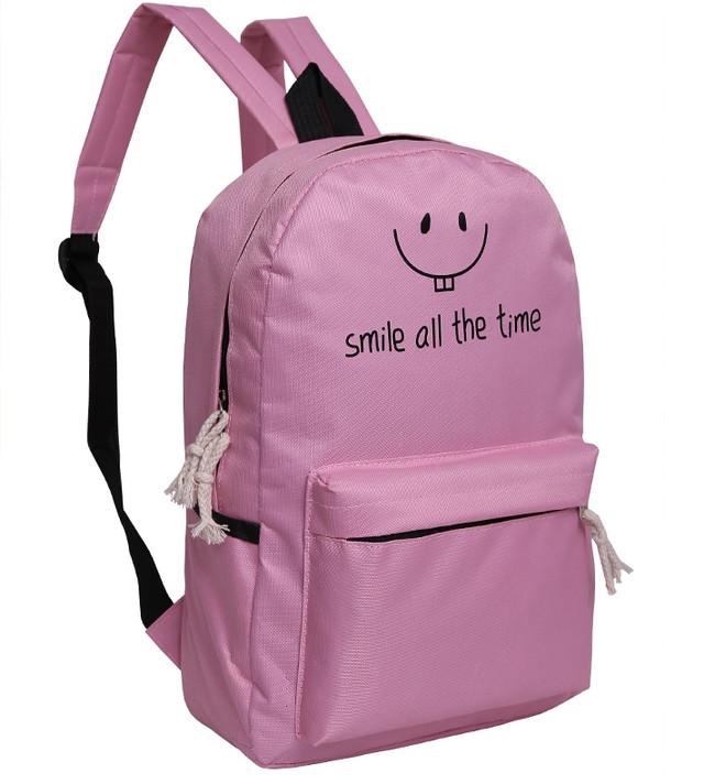 Стильный городской рюкзак смайл