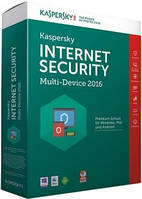 Kaspersky Internet Security 2016 - Multi-Device EEMEA Edition. 2+1 Device 1 year Renewal Box