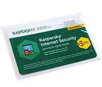 Kaspersky Internet Security 2017 Multi-Device 1 Device 1 year + 3 mon. Renewal Card