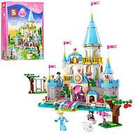 Конструктор SY325 DP, замок принцессы, фигурки, 669дет