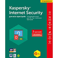 Kaspersky Internet Security 2017 Multi-Device 2 Device 1 year + 3 mon. Renewal Box