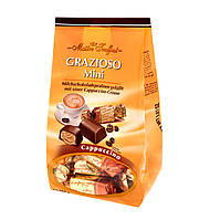 Шоколадные конфеты с кремом капуччино Grazioso Mini, Maitre Truffout, 108 г