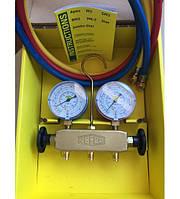 Манометрический коллектор REFCO APEX-6-DS-R134A, фото 1