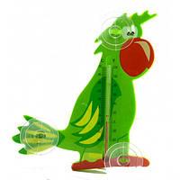 Термометр оконный Попугай