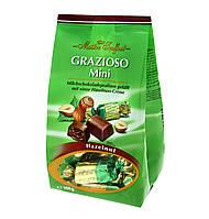 Шоколадные конфеты с ореховым кремом Grazioso Mini, Maitre Truffout, 108 г