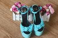 Стильные яркие туфли на высокой шпильке Giuseppe Zanotti