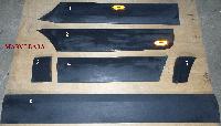 Молдинг двери стойки арки крыла (макси база) на Мерседес Спринтер W906