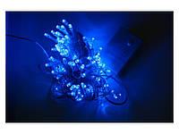 Новогодняя гирлянда желто-голубая 303 LED, светодиодная гирлянда