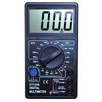 Мультиметр DT-700B тестер цифровой для контроля постоянного и переменного напряжения