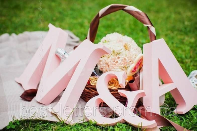 Буквы из пенопласта для свадебных декораций - Best Letters в Киеве