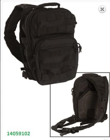 Рюкзак MIL-TEC  ASSAULT PACK SMALL8 л 14059102 черный