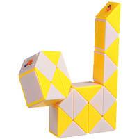 Головоломка Змейка Рубика (жёлтая)