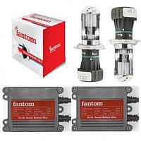 Комплект біксенону Fantom H4 4300, 5000K, 6000K 35W