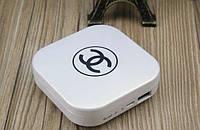 Портативное зарядное устройство Power Bank Пудреница Chanel 10400 mAh Белая