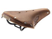 Велосипедное седло женское BROOKS B17S Standard AGED Dark Tan