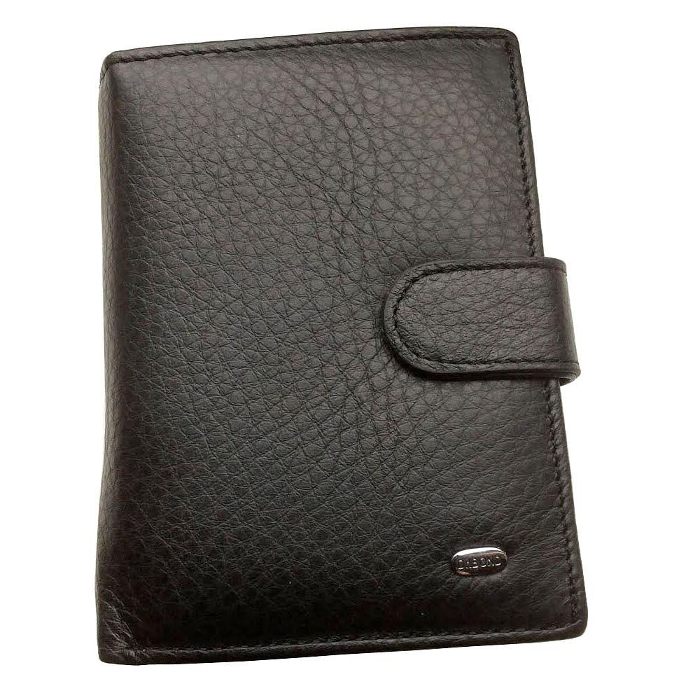 e677feacfe47 Мужской кошелек Dr. Bond Classic из натуральной кожи с отделением для  документов. Портмоне.