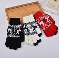 Перчатки для сенсорных экранов Touch Gloves Deer