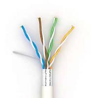Кабель OK-Net premium КПВонг-HFЭ-ВП (200) FTP кат.5е LSOH, 4х2х0.51 бухта 305м