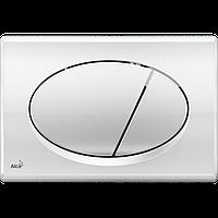 Кнопка управления для скрытых систем инсталляции AlcaPlast M71 (хром-глянец)
