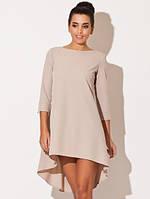 Платье спереди короткое и удлиненное сзади. Различые расцветки на выбор. От подросткового до взрослого размера