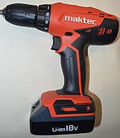 Аккумуляторный шуруповерт Maktec MT071E
