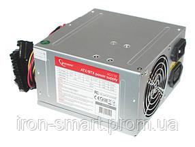 Блок питания Gembird 400W CCC-PSU3, 80mm, 20+4pin, 1x4pin, SATA х 3, Molex 2x4pin, кабеля немодульные