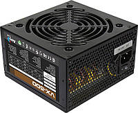 Блок питания Aerocool 500W VX500 (53602), 120 mm, 20+4pin, 1x4+4pin, SATA x 3, Molex 4x4pin, 6 Pin, кабеля немодульные