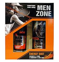 Косметический набор Menzone Energy Shot (пена для бритья+антиперспирант)