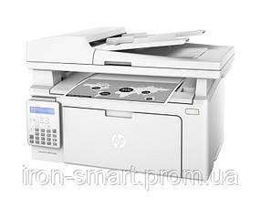 МФУ лазерное ч/б A4 HP LaserJet M130fn (G3Q59A), White, 600x600 dpi, факс, до 22 стр./мин, 2-ухстрочный текстовой экран, USB / Lan (картридж CF217A /