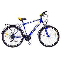 """Велосипед Formula Magnum 26"""" AM 14G Vbr St 2016 (OPS-FR-26-103-1) с багажником сине-желтый"""