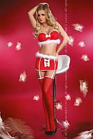 Новогодний костюм помощницы Cанты SNOW WHITE