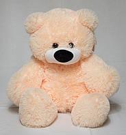 Плюшевый медведь, мягкий мишка, медведь мягкая игрушка 83 см Машинная/ручная, Животное, Персиковый